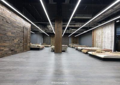 Ремонт магазина Ковры