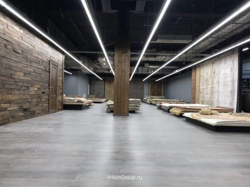 Ремонт магазина Мир ковров