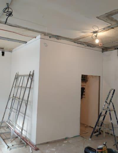 Монтаж подсобного помещения из гипсокартона