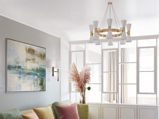 Дизайн 1 комнатной квартиры   ЖК Пять Звезд
